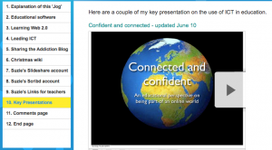 Embedding Slideshare presentations